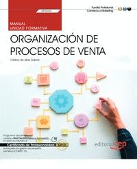 MANUAL. ORGANIZACIÓN DE PROCESOS DE VENTA (TRANSVERSAL: UF0030). ACTIVIDADES DE.