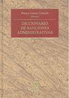 DICCIONARIO DE SANCIONES ADMINISTRATIVAS