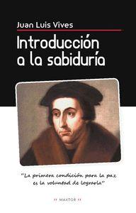 INTRODUCCION A LA SABIDURIA