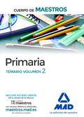 CUERPO DE MAESTROS PRIMARIA. TEMARIO VOLUMEN 2.