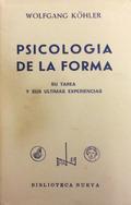 PSICOLOGÍA DE LA FORMA