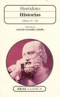 HISTORIAS HERODOTO LIBROS V-IX