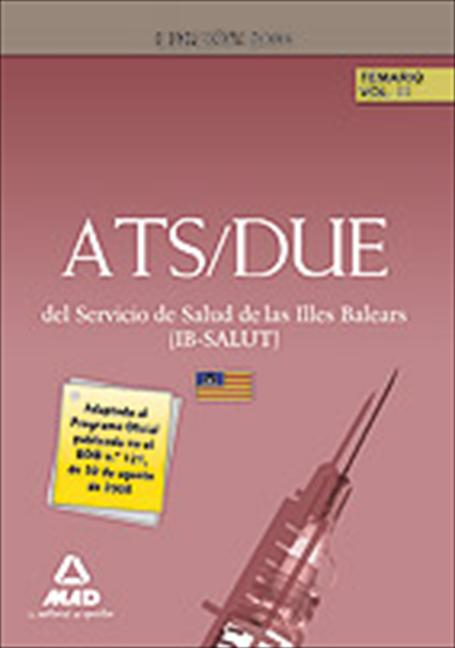 ATS/DUE DEL IB-SALUT. TEMARIO VOLUMEN III