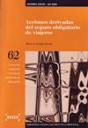 ACCIONES DERIVADAS DEL SEGURO OBLIGATORIO DE VIAJEROS