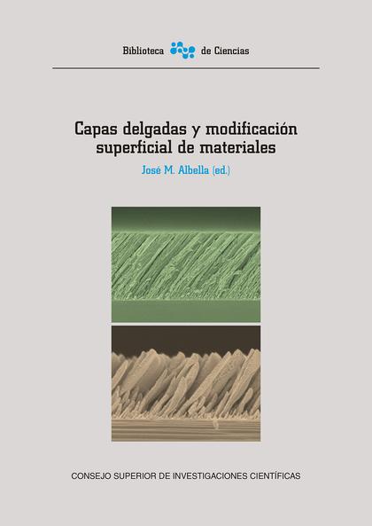 CAPAS DELGADAS Y MODIFICACIÓN SUPERFICIAL DE MATERIALES