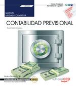 MANUAL. CONTABILIDAD PREVISIONAL (UF0334). CERTIFICADOS DE PROFESIONALIDAD. FINA.