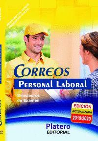 SIMULACROS DE EXAMEN PERSONAL LABORAL DE CORREOS.