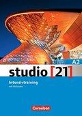 STUDIO 21. A2 INTENSIVTRAINER MIT AUDIO CD.