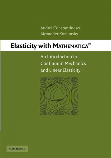 ELASTICITY WITH MATHEMATICA (R)