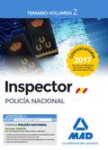 INSPECTOR POLICÍA NACIONAL TEMARIO VOLUMEN 2