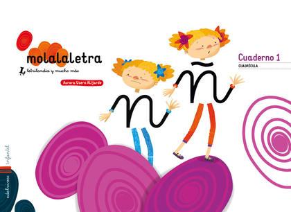 MOLA LA LETRA - NIVEL 3 - 5 AÑOS (CUADRICULA).