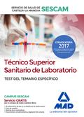 TÉCNICO SUPERIOR SANITARIO LABORATORIO 2017 SESCAM SERVICIO SALUD CASTILLA-LA MA