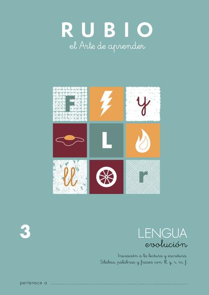 LENGUA RUBIO EVOLUCIÓN 3.