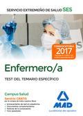 ENFERMERO/A DEL SERVICIO EXTREMEÑO DE SALUD (SES). TEST ESPECÍFICO.