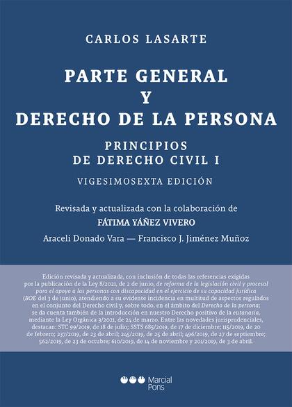 PRINCIPIOS DE DERECHO CIVIL                                                     TOMO I: PARTE G