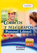 PERSONAL LABORAL DE  CORREOS Y TELÉGRAFOS. TEST DEL TEMARIO.