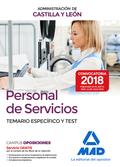 PERSONAL DE SERVICIOS DE LA ADMINISTRACIÓN DE CASTILLA Y LEÓN. TEMARIO ESPECIFIC