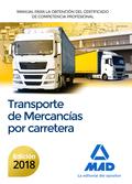 MANUAL PARA LA OBTENCIÓN DEL CERTIFICADO DE COMPETENCIA PROFESIONAL DE TRANSPORT