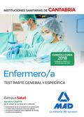 ENFERMERO/A DE LAS INSTITUCIONES SANITARIAS DE CANTABRIA. TEST PARTE GENERAL Y E