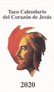 TACO CALENDARIO CORAZON DE JESUS 2020.