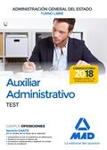 AUXILIAR ADMINISTRATIVO DE LA ADMINISTRACIÓN GENERAL DEL ESTADO (TURNO LIBRE)..