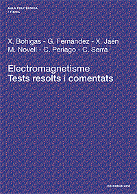 ELECTROMAGNETISME : TESTS RESOLTS I COMENTATS