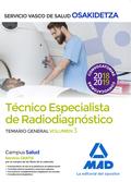 TÉCNICOS ESPECIALISTAS DE RADIODIAGNÓSTICO DEL SERVICIO VASCO DE SALUD-OSAKIDETZ