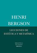 LECCIONES DE ESTÉTICA Y METAFÍSICA.