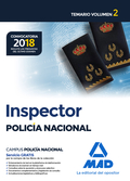 INSPECTOR DE POLICÍA NACIONAL. TEMARIO VOLUMEN 2