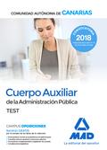 CUERPO AUXILIAR DE LA ADMINISTRACIÓN PÚBLICA DE LA COMUNIDAD AUTÓNOMA DE CANARIA