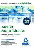 AUXILIAR ADMINISTRATIVO ANDALUCIA VOL 1 TEMARIO.