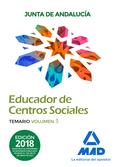 EDUCADORES DE CENTROS SOCIALES. PERSONAL LABORAL DE LA JUNTA DE ANDALUCÍA. TEMAR.