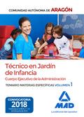 TÉCNICOS EN JARDÍN DE INFANCIA DEL CUERPO EJECUTIVO DE LA ADMINISTRACIÓN DE LA C