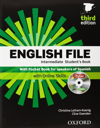 ENGLISH FILE INTERMEDIATE THIRD EDITION (PACK STUDENT´S BOOK + WORKBOOK WITH KEY + CD ROM)