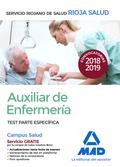 AUXILIAR DE ENFERMERÍA DEL SERVICIO RIOJANO DE SALUD. TEST PARTE ESPECÍFICA