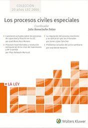 LOS PROCESOS CIVILES ESPECIALES.
