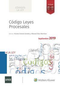 CODIGO DE LEYES PROCESALES 2019.
