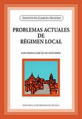 PROBLEMAS ACTUALES DE RÉGIMEN LOCAL.