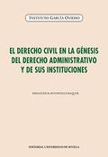 EL DERECHO CIVIL EN LA GÉNESIS DEL DERECHO ADMINISTRATIVO Y DE SUS INSTITUCIONES.