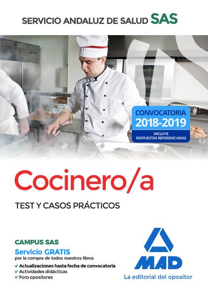 COCINERO/A 2018 SAS SERVICIO ANDALUZ SALUD