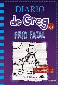 NOVEDAD SALE EN NOVIEMBRE DE 2018 DIARIO DE GREG 13 FRIO FATAL