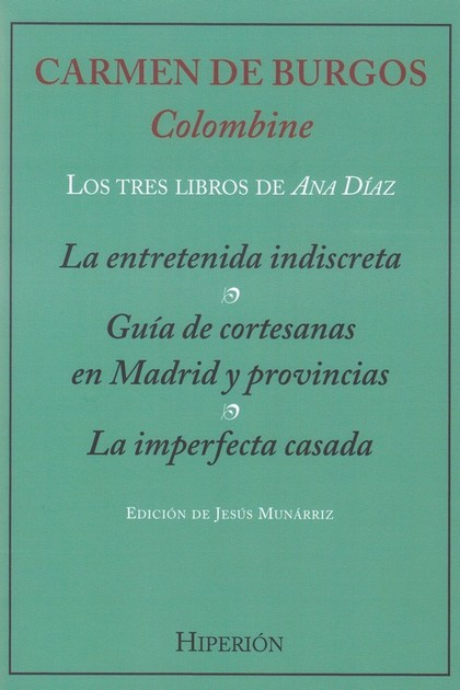 LOS TRES LIBROS DE ANA DÍAZ.