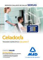 CELADORES  SERGAS TEMARIO ESPECIFICO VOLUMEN 1.