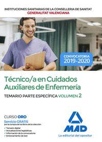 TÉCNICO EN CUIDADOS AUXILIARES DE ENFERMERÍA DE INSTITUCIONES SANITARIAS DE LA C.