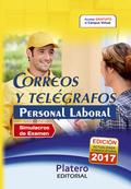 PERSONAL LABORAL DE  CORREOS Y TELÉGRAFOS. SIMULACROS DE EXAMEN.