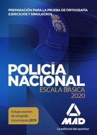 POLICIA NACIONAL ESCALA BASICA ORTOGRAFIA