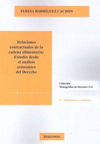 RELACIONES CONTRACTUALES CADENA ALIMENTARIA: ESTUDIO DESDE ANALISIS ECONOMICO DE