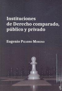 INSTITUCIONES DE DERECHO COMPARADO PUBLICO Y PRIVADO