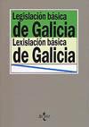 LEGISLACIÓN BÁSICA DE LA COMUNIAD AUTÓNOMA DE GALICIA