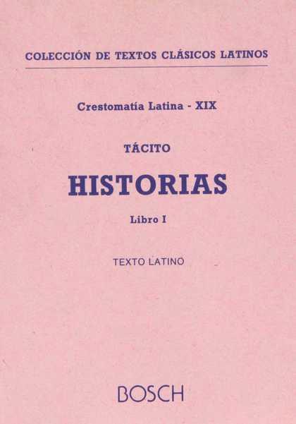 HISTORIAS, I. INTRODUCCIÓN, NOTAS Y VOCABULARIO POR M. BASSOLS DE CLIMENT